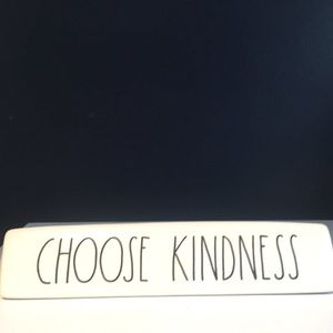 Brand New Rae Dunn Choose Kindness Desk Plaque